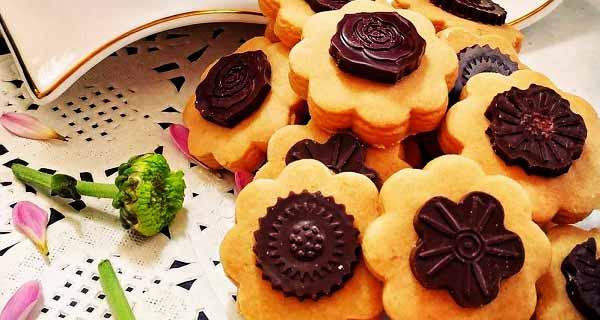 شوکو بیسکویت ، آموزش کامل طرز تهیه و درست کردن شوکو بیسکوییت خانگی خوشمزه و مجلسی در منزل ، choco-biscuit