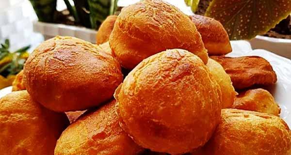 نان لقمه ای، طرز تهیه و پخت نان لقمه ای خوشمزه و مجلسی در منزل مرحله به مرحله ، nane logmei