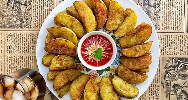 سیب زمینی تنوری، آموزش کامل طرز تهیه و پخت سیب زمینی تنوری در خانه، sibzamini tanori