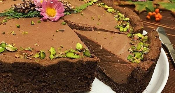 دسر تارت شکلاتی، طرز تهیه و درست کردن دسر تارت شکلاتی خوشمزه و مجلسی در منزل