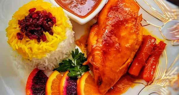 طرز تهیه مرغ پرتقالی، آموزش کامل طرز تهیه و پخت مرغ پرتقالی خوشمزه و مجلسی در خانه، morgh-portugali