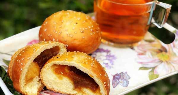 نان مربایی، دستور تهیه و پخت نان مربایی خوشمزه و مجلسی در  منزل مرحله به مرحله، nane-morabayi