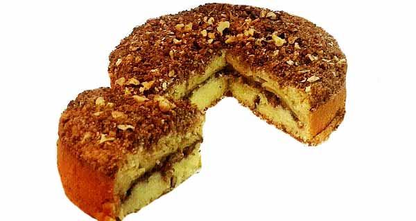 کیک کرامبل سیب و گردو، دستور پخت کیک کرامبل خانگی به روش ایتالیایی برای 4 نفر، cake crumble sib