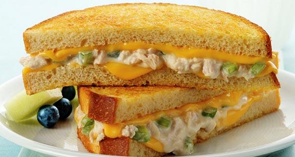 ساندویچ تن ماهی، طرز تهیه و پخت ساندویچ تن ماهی خوشمزه و مجلسی در منزل ، sandwich toon mahi