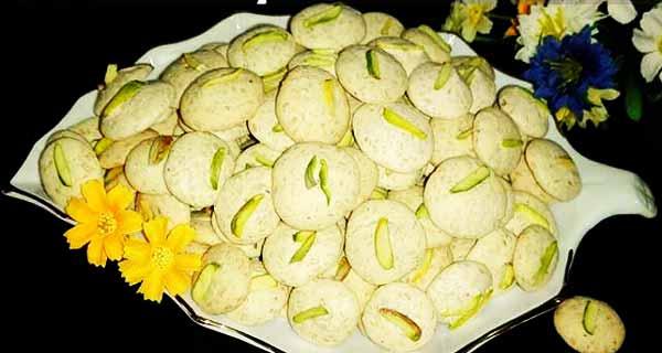 شیرینی پفکی کنجدی، طرز تهیه و پخت شیرینی پفکی کنجدی خوش طعم و مجلسی در منزل ، shirini pofaki konjedi