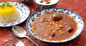 طرز تهیه خورشت قیمه نخود به روشی خوشمزه و مجلسی در منزل، khoresht-gheymeh-nokhod
