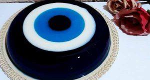 طرز تهیه ژله چشم نظر خوشمزه و مجلسی در منزل، ژله چشم زخم