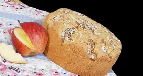 طرز تهیه کیک سیب و نارگیل خوشمزه و مجلسی در خانه، cake sib nargil