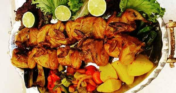 طرز تهیه کباب بلدرچین خوشمزه و مجلسی در فر و بدون فر در ذغال در منزل، kabab-belderchin