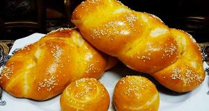 طرز تهیه نان عسلی به روشی خوشمزه برای کودکان 4 تا 5 نفر، nane asali