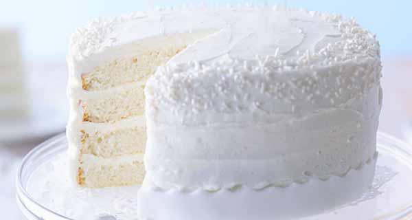 طرز تهیه کیک سفید رنگ با بافتنی اسفنجی و نرم و خوشمزه در خانه مرحله به مرحله cake sefid
