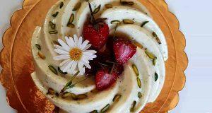 کرم پسته عسلی خوشمزه و فرانسوی اصل در منزل طرز تهیه و مواد لازم، cream-poste-asali