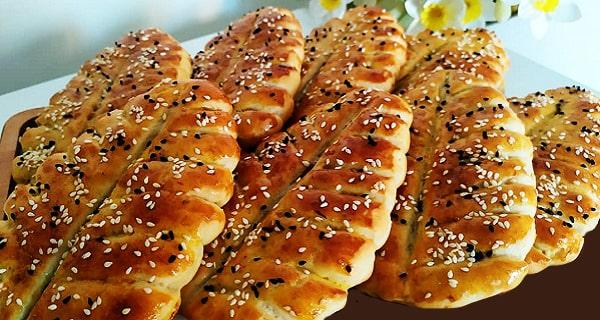 طرز تهیه نان حلوایی به صورت خوشمزه و مجلسی در منزل، nane halvayi