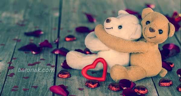 عکس فانتزی خرس پاندا، تصاویری زیبا و عاشقانه از خرس پاندا دو نفره