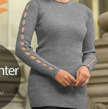 مدل تونیک مجلسی زیبا با طراحی زیبا روی بازوها