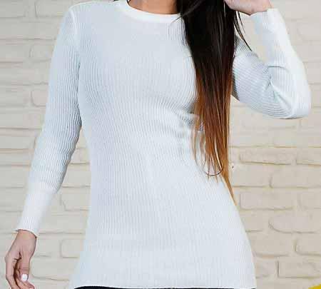 مدل لباس بافتنی سفید زیبا