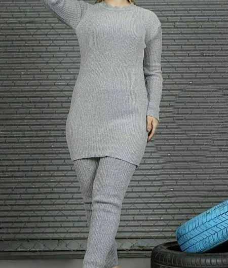 مدل لباس بافتنی راحتی ویژه خانه برای خواب