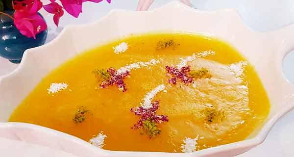 طرز تهیه دسر پالدای زعفرانی به روشی خوشمزه و ساده در خانه مرحله به مرحله