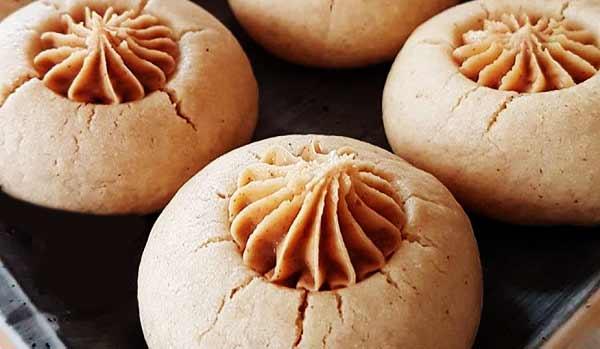 طرز تهیه شیرینی کره بادام زمینی خوشمزه و ترکیه ای در منزل