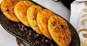 طرز تهیه ایشلی کوکه ، نان روغنی خوشمزه و مغزدار تبریزی مرحله به مرحله در منزل