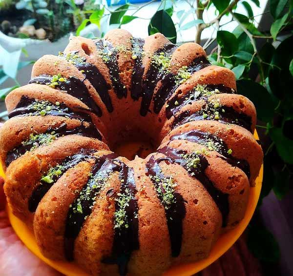 طرز تهیه کیک موز و دارچین خوشمزه و کافی شاپی در خانه مرحله به مرحله تصویری
