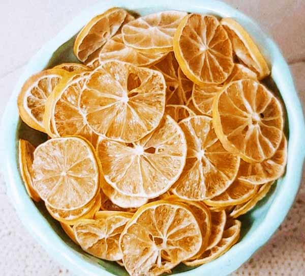 طرز تهیه لیمو ترش خشک ورقه ای و خانگی به روش حرفه ای برای چایی