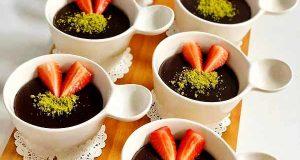 طرز تهیه دسر سوپانگل شکلاتی خوشمزه و مجلسی ترکیه ای