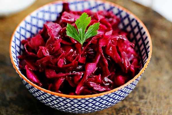 طرز تهیه ترشی کلم قرمز فوری خوشمزه و رستورانی در منزل مرحله به مرحله تصویری